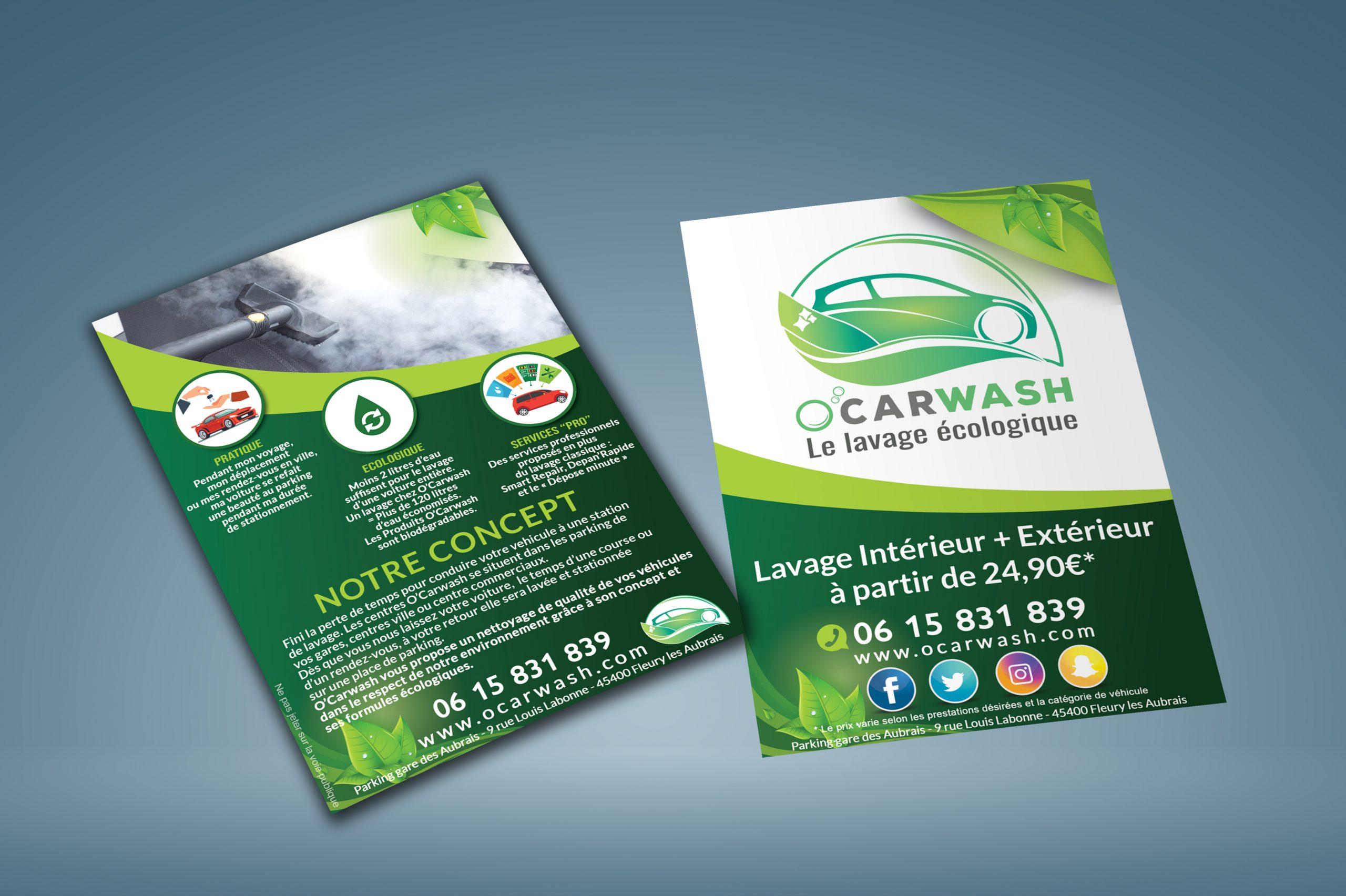 Flyer O'carwash