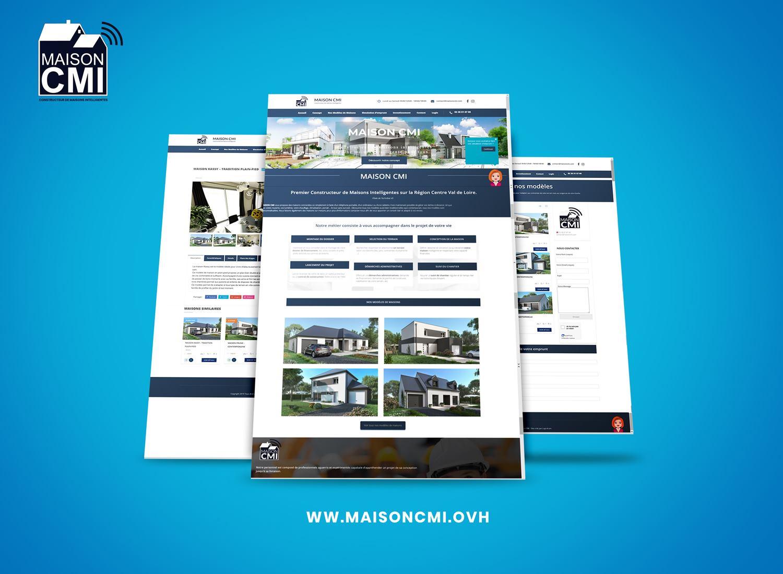 Site Web Maison CMI